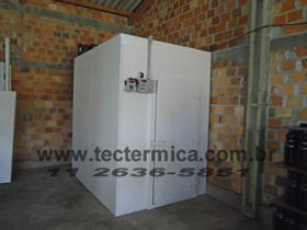 Câmara frigorifica padronizada para congelados