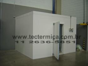 Câmara frigorifica padronizada reforçada para resfriados