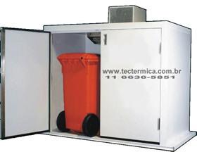 Mini câmara frigorifica - Deposito de lixo refrigerado