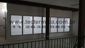Câmara frigorifica com porta de vidro