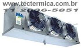 Unidade evaporadora do equipamento de frio