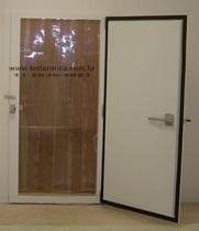 Porta frigorifica giratória para resfriados