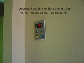 Equipamento para climatização de adega - Painel de controle modelo 2