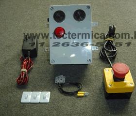 Alarme antiaprisionamento frigorifico NR36 - Modelo STD - Kit completo