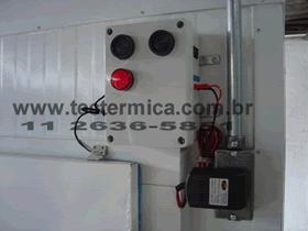Alarme de aprisionamento NR-Frigorifico - Modelo ABR - Detalhe de instalação