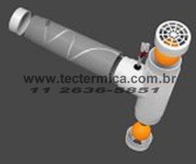 Válvula equalizadora de pressão para câmara frigorifica - modelo VAP/COM