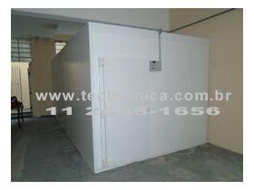 A Câmara fria para hortifrúti demanda componentes específicos