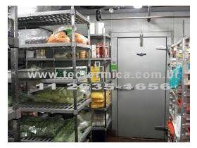 A Câmara frigorifica tem muita utilidade no restaurante delivery