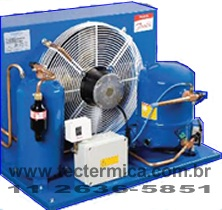 Unidade condensadora hermética industrial - Modelo 2