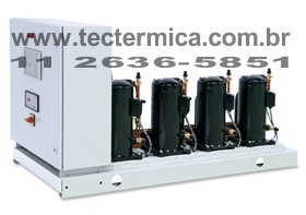 Unidade condensadora - Rack frigorifico hermético - Modelo 6
