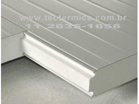 O Painel frigorifico termoisolante é ideal para edificação de imoveis